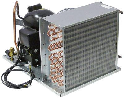 σύστημα ψύξης HBP  τύπος UCHZ 25 A  ψυκτικό R134a  EMT6170Z  1/4HP χωρητικότητα κυλίνδρου 7.7cm³