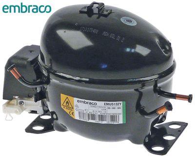 συμπιεστής ψυκτικό R600a  τύπος EMU5132Y 220-240 V 50Hz HBP  7.4kg 1/7HP