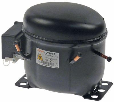 συμπιεστής ψυκτικό R600a  τύπος HLY99AA 220-240 V 50Hz LBP  1/6HP χωρητικότητα κυλίνδρου 9.9cm³