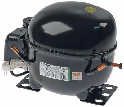 συμπιεστής ψυκτικό R404A  τύπος NEK6165GK 220-240 V 50Hz MBP  11kg 1/3HP