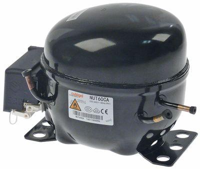 συμπιεστής ψυκτικό R290  τύπος NUT60CA 220-240 V 50Hz LBP  8kg 1HP χωρητικότητα κυλίνδρου 6cm³