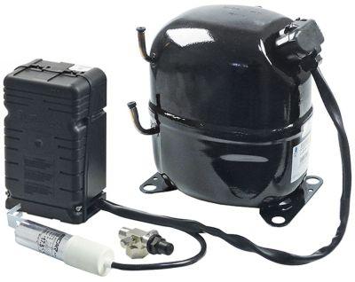 συμπιεστής ψυκτικό R404A  τύπος 220-240 V 50Hz HMBP  πλήρως ερμητικό 24kg 1.2HP