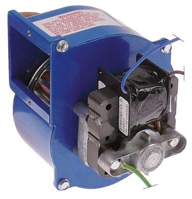 ανεμιστήρας ψύξης 230V τάση AC  50Hz 12W H1 116mm Μ1 100mm ø D1 57mm Π1 111mm Π2 51mm H2 41mm