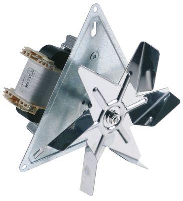 ανεμιστήρας ζεστού αέρα 230V 32W 0.3A Μ1 60mm Μ2 28mm Μ3 20mm Μ4 157mm