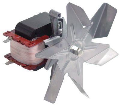 ανεμιστήρας ζεστού αέρα 230V 25W Μ1 65mm Μ2 16mm Μ3 20mm Μ4 80/80/97 mm