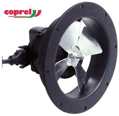 βεντιλατέρ με παροχή αέρα 230V 9W 50/60 Hz ø στροφείου ανεμιστήρα 96mm Μ άξονα 21mm