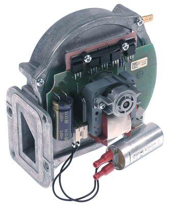 ανεμιστήρας ψύξης 24V τάση AC  50Hz 20W H1 141mm Μ1 130mm ø D1 27mm Π1 86mm Π2 23mm H2 42.5mm