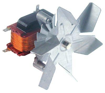 ανεμιστήρας ζεστού αέρα 220-240 V 32W Μ1 65mm Μ2 10mm Μ3 20mm Μ4 87mm