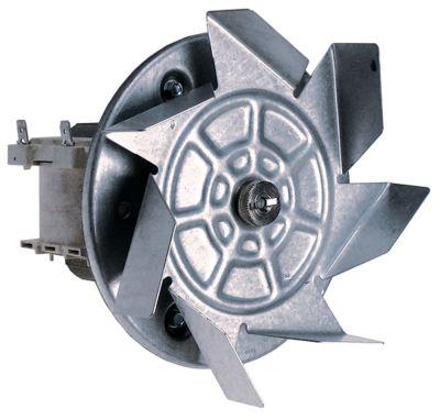 ανεμιστήρας ζεστού αέρα 220-240 V 32W 50/60 Hz Μ1 60mm Μ2 21mm Μ3 25mm Μ4 87mm