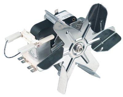 ανεμιστήρας ζεστού αέρα 115/230 V 30/35 W Μ1 53mm Μ2 7mm Μ3 20mm Μ4 87mm
