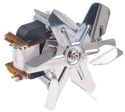 ανεμιστήρας ζεστού αέρα 240V 30W Μ1 58mm Μ2 10mm Μ3 20mm Μ4 88mm ø στροφείου ανεμιστήρα 150mm