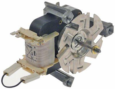ανεμιστήρας ζεστού αέρα 115/230 V 32W Μ1 58mm Μ2 20mm Μ3 20mm Μ4 87mm τύπος EM4218-405 bu