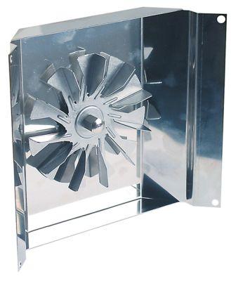 ανεμιστήρας ζεστού αέρα 120/240 V Μ1 50mm Μ2 8mm Μ3 17mm Μ4 47mm ø στροφείου ανεμιστήρα 120mm