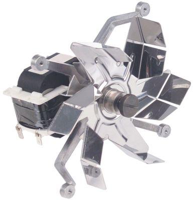 ανεμιστήρας ζεστού αέρα 230V 27W Μ1 80mm Μ2 5mm Μ3 30mm Μ4 120mm ø στροφείου ανεμιστήρα 150mm