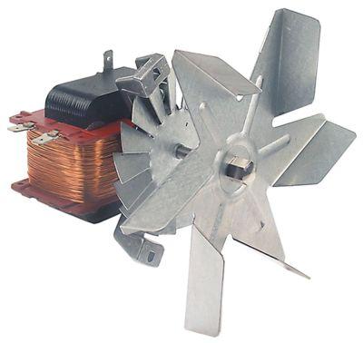 ανεμιστήρας ζεστού αέρα 220-230 V 38W Μ1 65mm Μ2 25mm Μ3 20mm Μ4 87mm