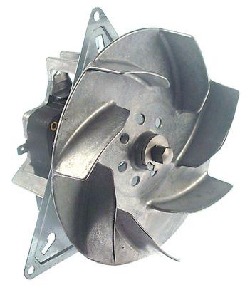 ανεμιστήρας ζεστού αέρα 220-230 V 47W Μ1 65mm Μ2 17mm Μ3 28mm Μ4 157mm