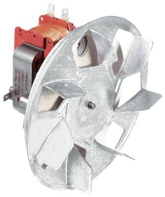 ανεμιστήρας ζεστού αέρα 220-240 V 32W 50/60 Hz Μ1 60mm Μ2 10mm Μ3 25mm Μ4 87mm