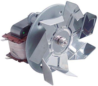 ανεμιστήρας ζεστού αέρα 220V 55W 50/60 Hz Μ1 65mm Μ2 15mm Μ3 25mm Μ4 87mm
