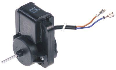 ανεμιστήρας κινητήρα 220-240 V 50-60 Hz D 40mm W 61mm H 74mm Μ άξονα 24mm ø άξονα 3,2mm