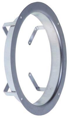 δαχτυλίδι για ø στροφείου ανεμιστήρα 172mm αναρρόφηση ø 220mm H 49mm