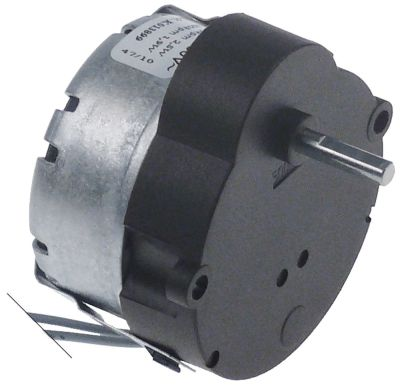 μειωτήρας CDC  τύπος BT03  2,5W 230V 50/60 Hz 500σαλ ø άξονα 4x3,7 mm Μ άξονα 14,6mm Μ 55mm