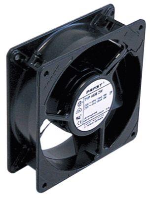 ελικοειδής ανεμιστήρας Μ 119mm W 119mm H 38mm 230VAC  50/60 Hz 13W ρουλεμάν έδρανο ολίσθησης