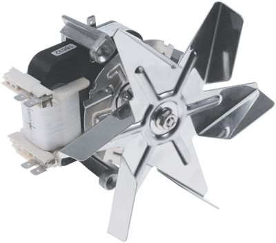 ανεμιστήρας ζεστού αέρα 230V 32W 0.3A 3 ούπα Μ1 60mm Μ2 21mm Μ3 20mm Μ4 88mm