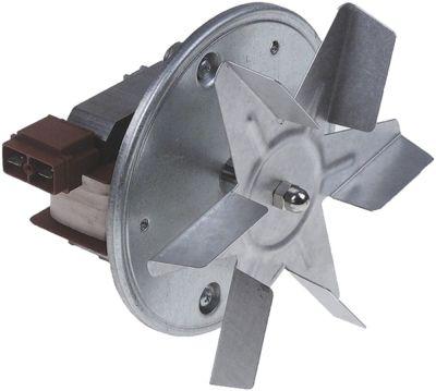 ανεμιστήρας ζεστού αέρα 230V 33W 50/60 Hz Μ1 60mm Μ2 23mm Μ3 20mm Μ4 87mm