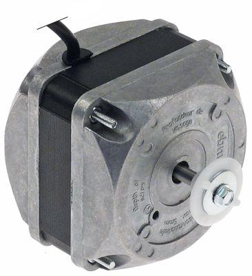 ανεμιστήρας κινητήρα 10W 230V 50/60 Hz B 82mm K 15mm E 42mm εξωτερικό μέγεθος 83x83 mm
