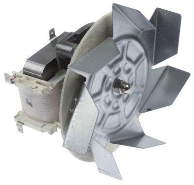 ανεμιστήρας ζεστού αέρα 220-230 V 40W Μ1 62mm Μ2 12.5mm Μ3 25mm Μ4 86mm