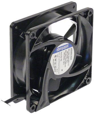 ελικοειδής ανεμιστήρας Μ 119mm W 119mm H 38mm 230VAC  50/60 Hz 19W ρουλεμάν ρουλεμάν