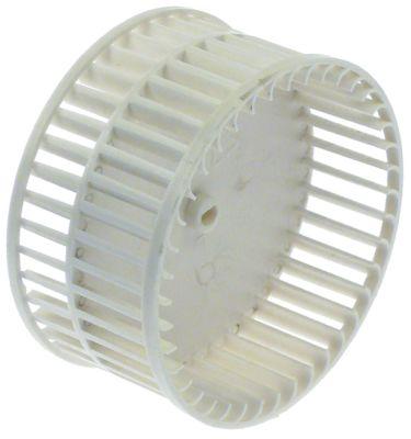 φτερό ανεμιστήρα για ακτινικό ανεμιστήρα ø 96mm διάμετρος άξονα 4x5 mm H 49mm πτερύγια 40 πλαστικό