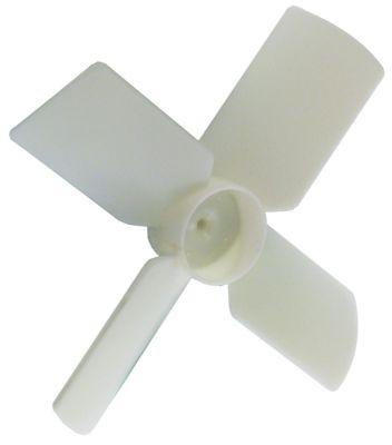 φτερό ανεμιστήρα με παροχή αέρα ø 150mm ø εισαγωγής άξονα 4mm W 33mm πλαστικό Ποσ. 1 τεμ.