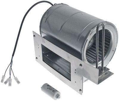 ανεμιστήρας ψύξης 230V τάση AC  50/60 Hz 190W ø D1 133mm με θερμαντικό στοιχείο