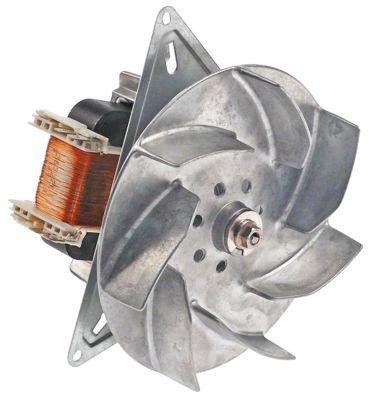 ανεμιστήρας ζεστού αέρα 240V 28W 0,1A Μ1 65mm Μ2 17mm Μ3 28mm Μ4 157mm
