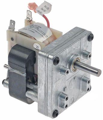 μειωτήρας MERKLE τύπος B3715UP-095  3,45W 230V 50Hz 10σαλ ø άξονα 8mm Μ 125mm W 70mm H 75mm