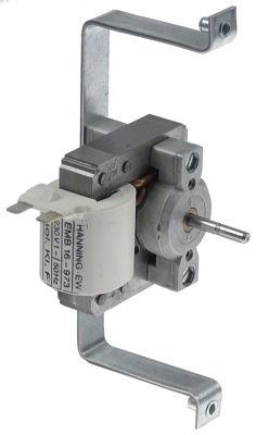 ανεμιστήρας ζεστού αέρα 230V HANNING  τύπος EMB 16-973 50Hz W 80mm Μ 170mm