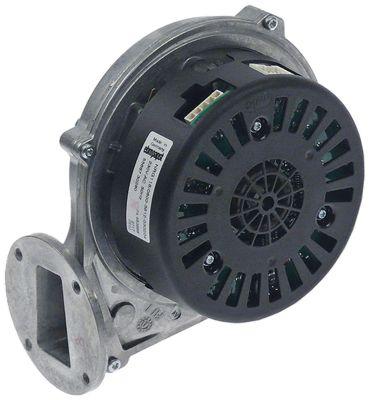 ανεμιστήρας ψύξης 230V τάση AC  50Hz 55W H1 156mm Μ1 160mm ø D1 126mm Π1 90mm H2 50mm Π3 83mm
