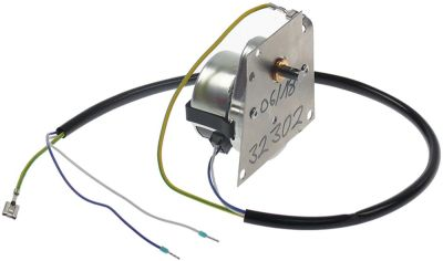 μειωτήρας CROUZET  τύπος 82334051 230V 500Hz 24σαλ ø άξονα 6mm 3,5W