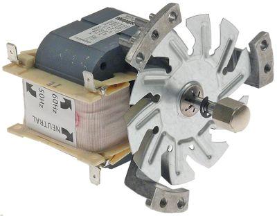 ανεμιστήρας ζεστού αέρα κιτ 208-240 V 38W 50/60 Hz Μ1 82mm Μ4 86,5mm ø στροφείου ανεμιστήραmm τύπος