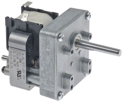 gear motor 230V 50Hz 1 phase shaft ø 7x8mm conveyor toaster