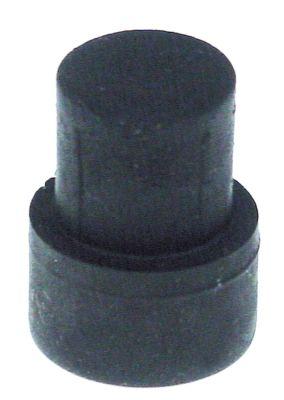 ποδαράκι ø 18mm H 11mm ø διάταξης στερέωσης 14mm μετρήσεις στερέωσης 23,5mm συνολικό ύψος 23,5mm