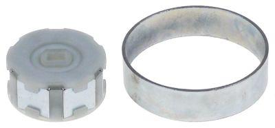 σύνδεσμος μαγνητικό ø 54mm ø αναγν. 29mm διάμετρος άξονα 8x12 mm H 25mm