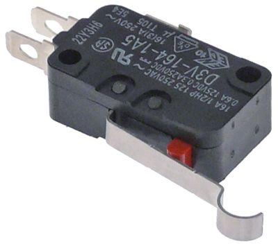 μικροδιακόπτης OMRON  λειτουργία με μοχλό 250V 16A σύνδεσμος αρσενικό εξάρτημα για SPM