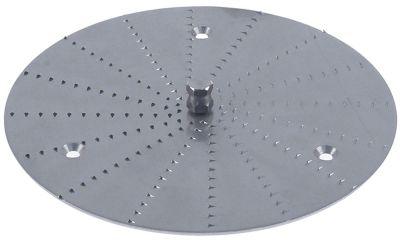 δίσκος τριψίματος Ανοξείδωτο ατσάλι πλήρες ø 165mm H 2.5mm κατάλληλο για SANTOS