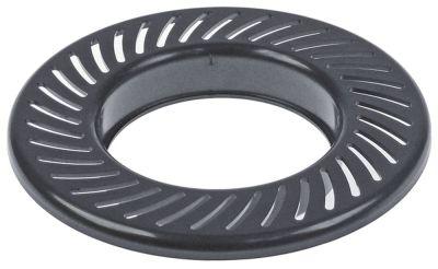 φίλτρο για αποχυμωτές ø 155mm H 23mm πλαστικό μαύρο