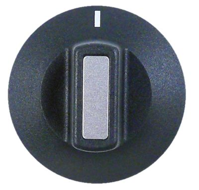 κομβίο ένδειξη μηδέν διακόπτη Μέγ. Θ  -°C ø 50mm ø άξονα 6x4,6 mm επίπεδος άξονας κατώτερο