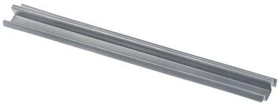ράγα ολίσθησης για συρτάρι Μ 290mm μέγεθος 12x12mm  δεξιά/αριστερά ψυγείο