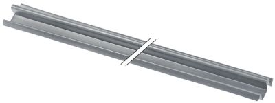 ράγα ολίσθησης για συρτάρι Μ 470mm μέγεθος 12x12mm  δεξιά/αριστερά ψυγείο