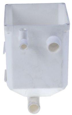 δοχείο νερού για μηχανή παγακιών Μ 96mm W 96mm H 130mm είσοδος 20mm έξοδος 20mm